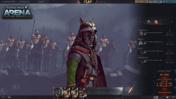 Total War Arena Screenshot Beta Mask