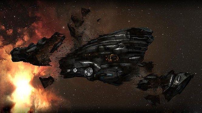 EVE Online - Erebus Wreck