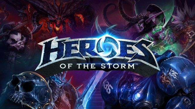 Heroes of the Storm - Banner