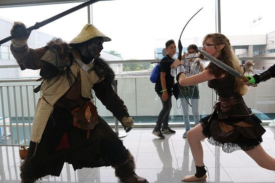 Cosplay Fight