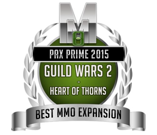 Best MMO Expansion - Guild Wars 2 Heath of Thorns - PAX Prime