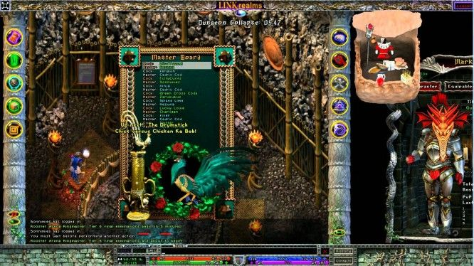 LinkRealms -- Dungeon