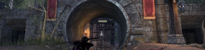 Imperial City entrance