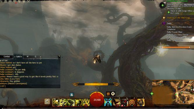 GW2 - Gliding Heart of Thorns Mastery