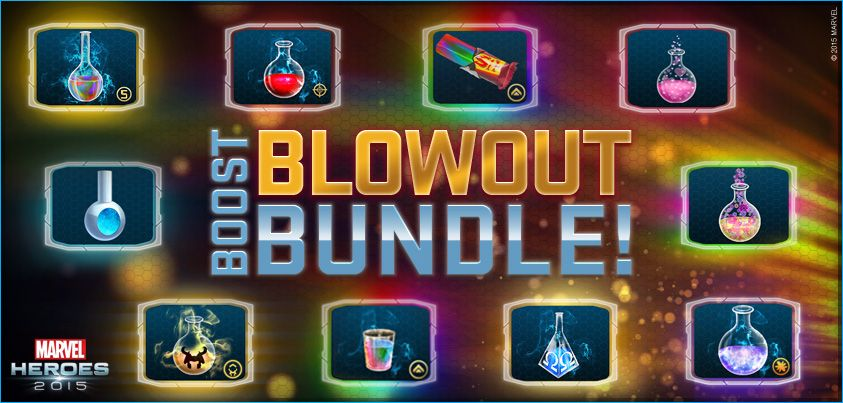 Marvel Heroes BlowOut Bundle