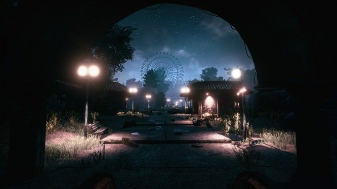 The Park Horror Game