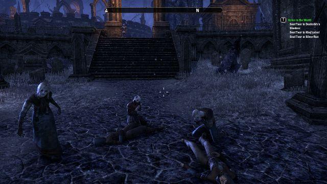 so many zombies in Elder Scrolls Online!