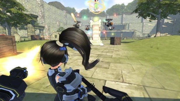 Cosmic League ponytail girl -Beta