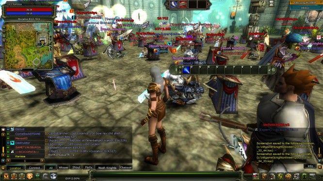 Knight Online -- Town