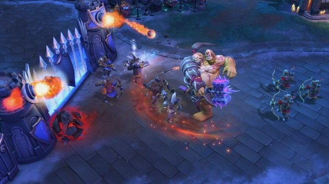 Heroes of the Storm Towers of Doom