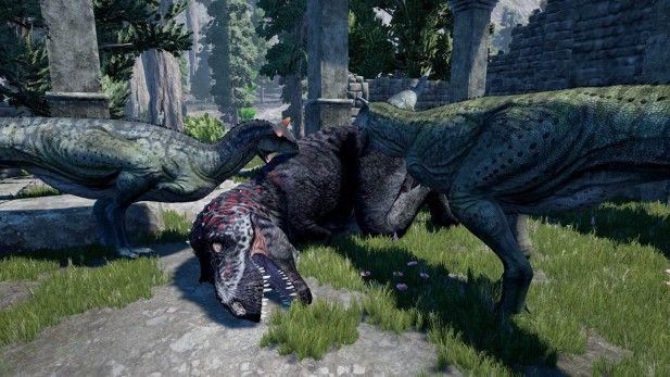 The Isle Screenshot Alpha Dino Attack