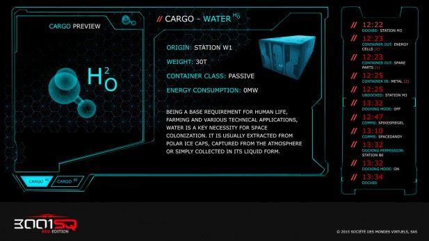 3001SQ Screenshot Alpha Cargo