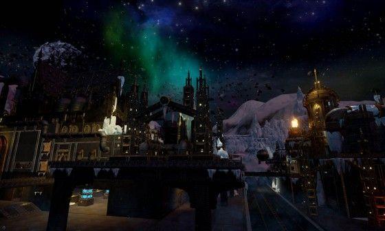 Eternal Crusade Introduces Arctic Pegasus Station Map