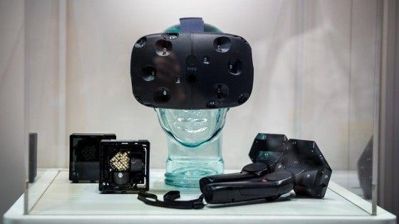 HTC Vive Virtual Reality Headset Delayed