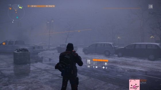 Images leaked from the division alpha