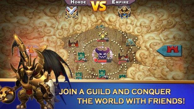 Clash of Lords 2 Heroes War Screenshot Guild