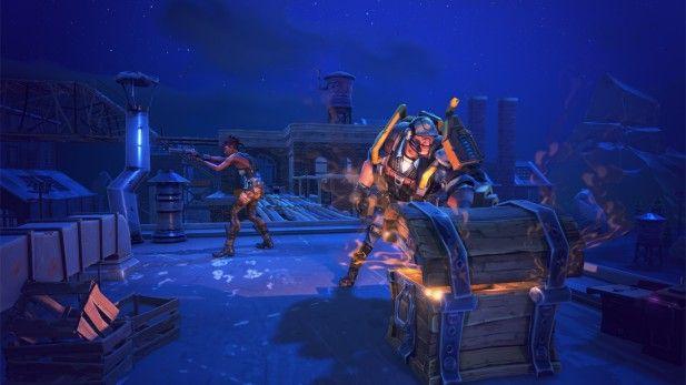 Fortnite Screenshot Alpha Glowing Chest