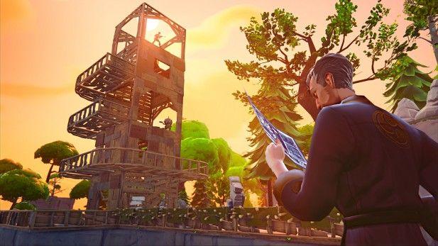Fortnite Screenshot Alpha Ninja Looking At Plans