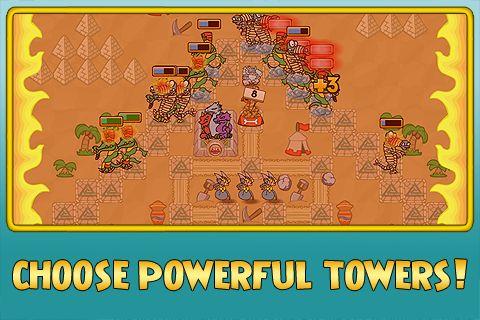 Grub Guardian Screenshot Towers