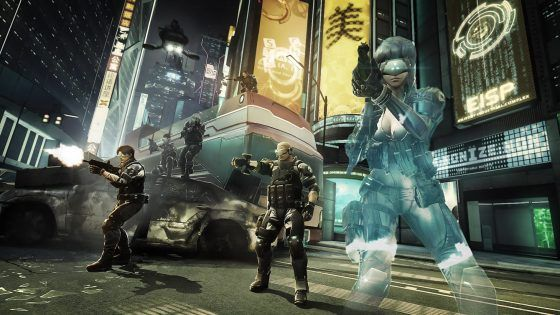 Ghost In The Shell First Assault Screenshot Beta City Streets