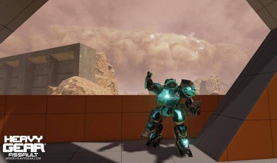 Heavy Gear Assault Screenshot Storm