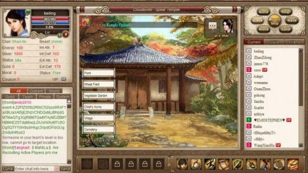 Kungfu Online Screenshot House