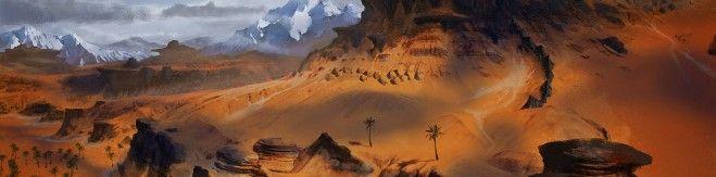 Conan Exiles Alpha Concept Art Landscape