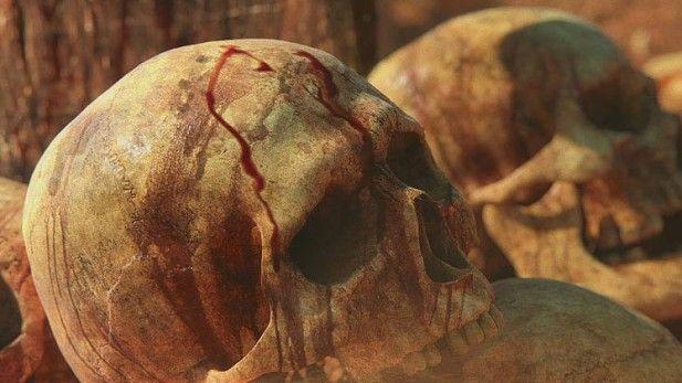 Conan Exiles Alpha Concept Art Skull