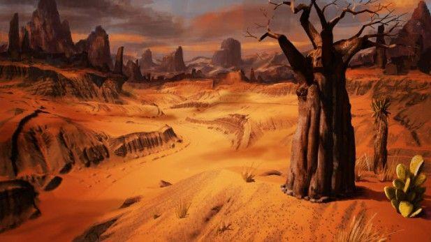 Conan Exiles Pre Alpha Screenshot Desert