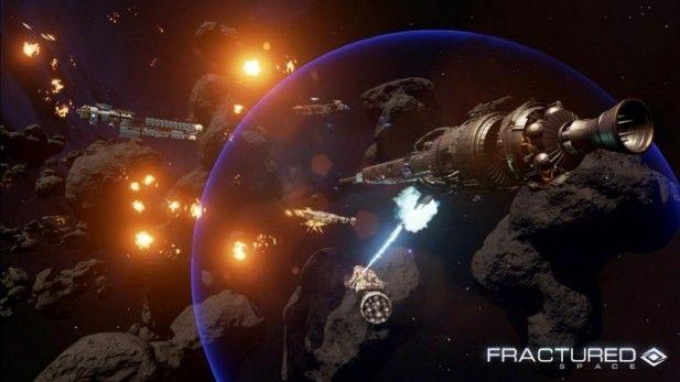 Fractured Space Screenshot Beta Shot Fired