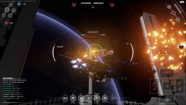 Fractured Space Screenshot Beta Target