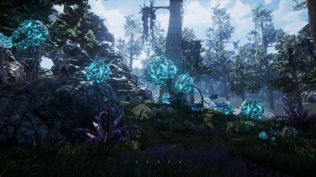 Repopulation Fragmented Alpha Screenshot Alien Planet