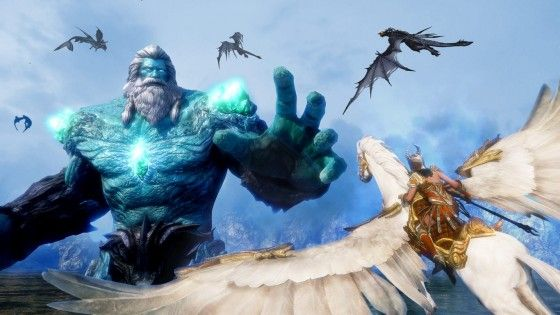 Aerial Combat MMO Riders of Icarus