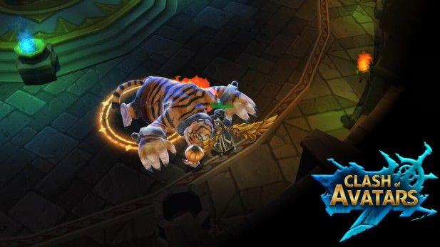 Clash of Avatars Screenshot Tiger