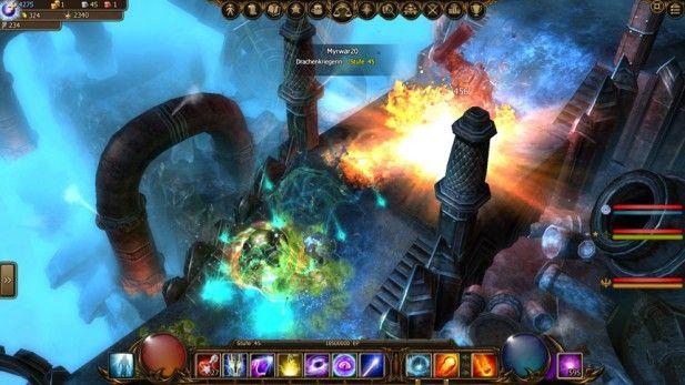 Drakensang Screenshot Dungeon