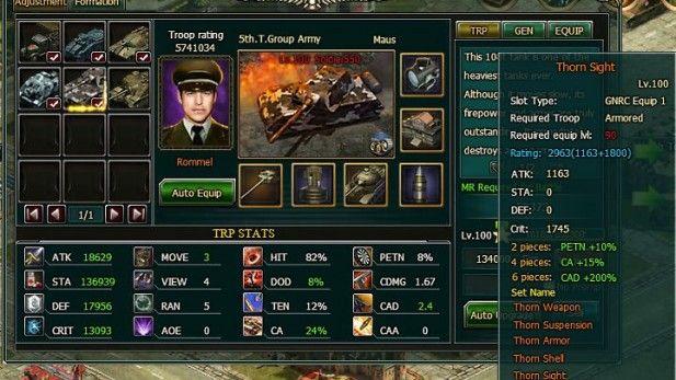 Global War Screenshot Troop