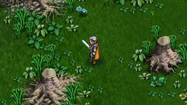 Hero's Song Alpha Screenshot Warrior