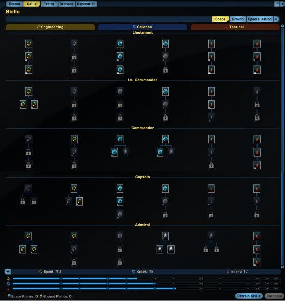 Star Trek Online Skill System Revamp