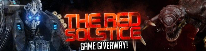 The Red Solstice Game giveaway