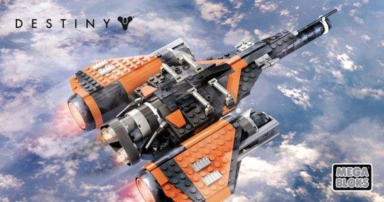 Mega Bloks Destiny Construction Sets Announced