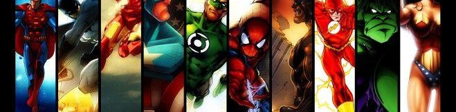 Captain-America-DC-Comics-Marvel-Comics-Spider-Man-Superman-Wonder-Girl-superheroes