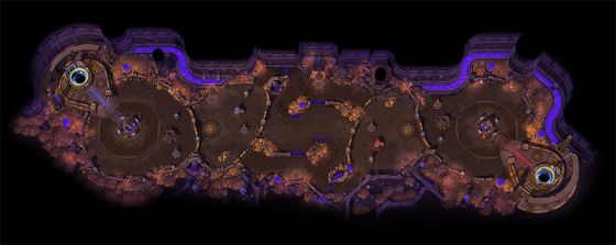 Heroes of the storm lost cavern map