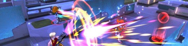 Atlas Reactor closed beta Elle in Combat