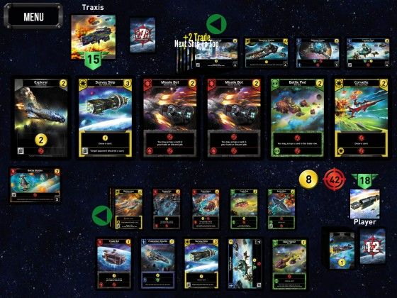 Star Realms - Play Mat