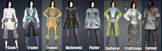 Black Desert Online Cosmetics and Craftable Gear