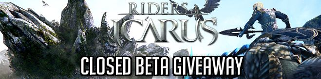 Riders of Icarus Closed Beta 3 Giveaway