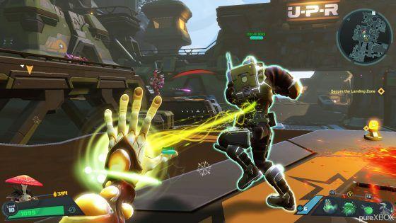 Battleborn gameplay