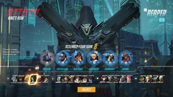 Overwatch Newbie might not pick the right class.