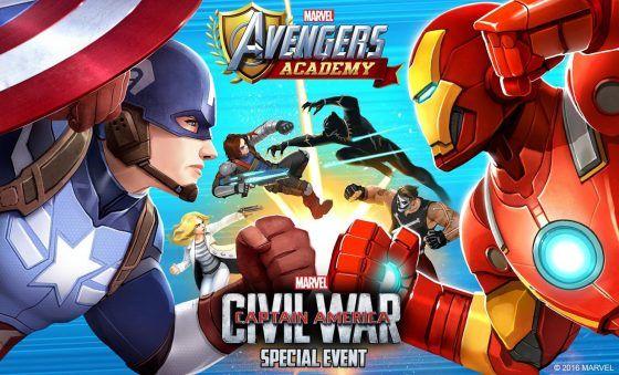 Civil War breaks out in Marvel Avengers Academy