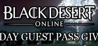 Black Desert Online 7 Day Guest Pass Giveaway